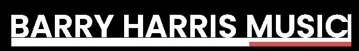 Barry Harris Music Logo
